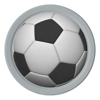 Soccer / Football customizable poker chips