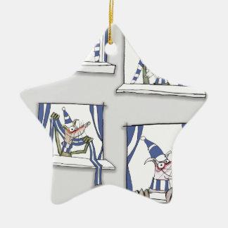 soccer football dog blues forever christmas ornament