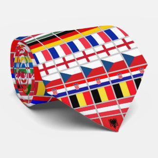 Soccer Football European Championship Tie