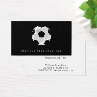 Soccer Football Futbol Ball Business Card