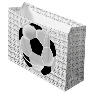 Soccer Football Futbol Ball Large Gift Bag