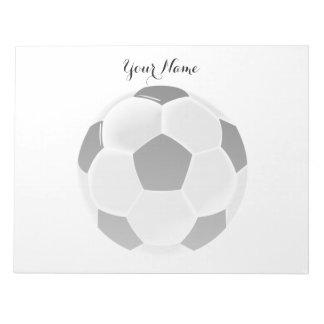 Soccer Football Futbol Ball Notepad
