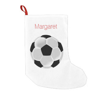 Soccer Football Futbol Ball Small Christmas Stocking
