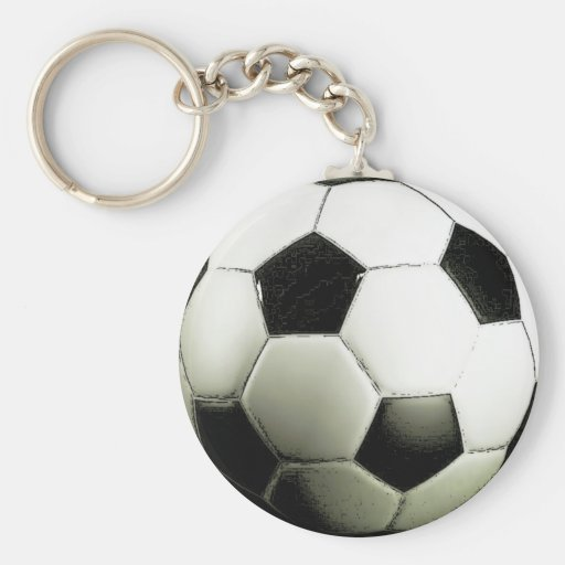 Soccer - Football Key Chains