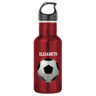 Soccer Football Name customized 532 Ml Water Bottle