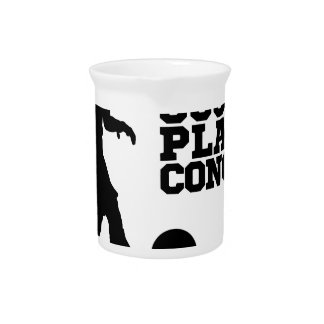Soccer Football Player Concept Silhouette Drink Pitchers