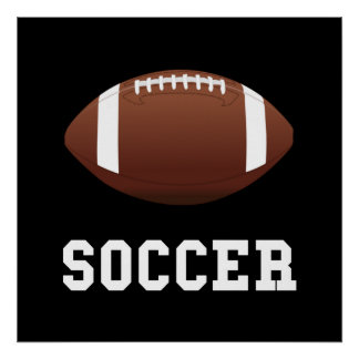 Soccer Football Poster