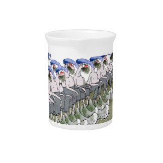 soccer football subs blue white stripes pitcher