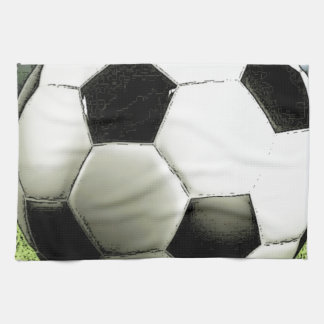 Soccer - Football Kitchen Towel