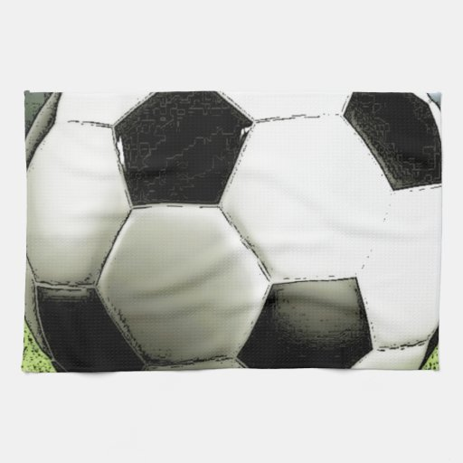 Soccer - Football Kitchen Towel