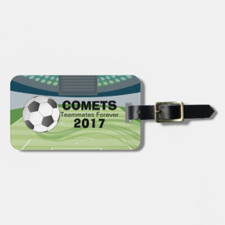 Soccer / Football Team Template Luggage Tag