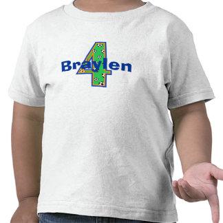 Soccer Fourth Birthday Boy Shirt