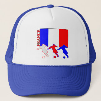 Soccer France Trucker Hat