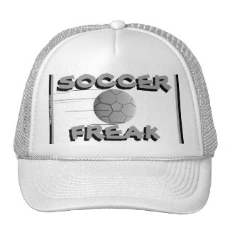 """""""Soccer Freak"""" Mesh Ballcap Cap"""