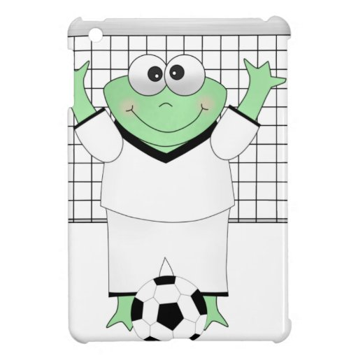 Soccer Frog with Goldie iPad Mini Cases