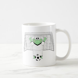 Soccer Frog with Goldie Mug