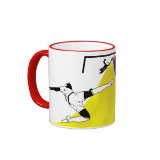 Soccer (Futbol) Ringer Mug