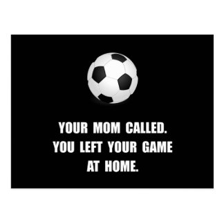 Soccer Game At Home Postcard