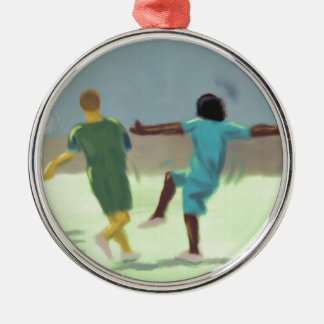 Soccer Game, Christmas Tree Ornament