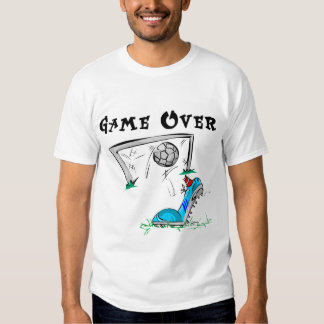 Soccer Game Over Tshirts and Gifts