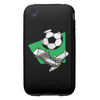 Soccer Gear iPhone 3 Tough Cases