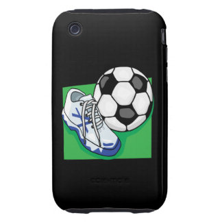 Soccer Gear Tough iPhone 3 Cases
