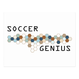 Soccer Genius Postcard