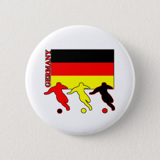 Soccer Germany 6 Cm Round Badge