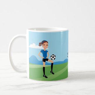 Soccer Girl Mug
