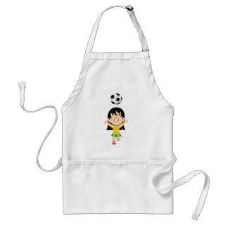 Soccer Girl Standard Apron