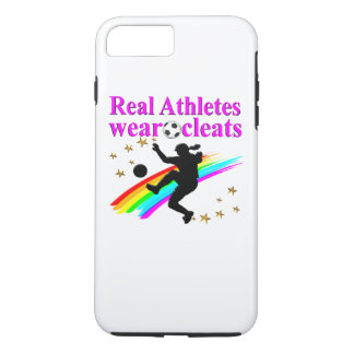SOCCER GIRLS RULE THE WORLD iPhone 7 PLUS CASE