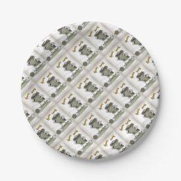soccer goal keeper \u0027blue white stripes\u0027 paper plate  sc 1 st  Zazzle & Blue And White Soccer Plates | Zazzle.co.uk