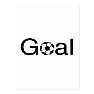 Soccer Goal Postcard