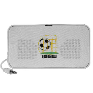Soccer Goal iPhone Speaker