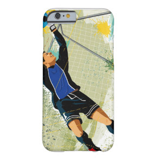 Soccer goalie blocking ball barely there iPhone 6 case
