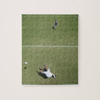 Soccer goalie missing soccer ball 2 jigsaw puzzle