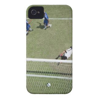 Soccer goalie missing soccer ball iPhone 4 cases