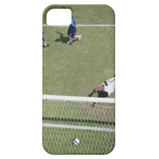 Soccer goalie missing soccer ball iPhone 5 cover