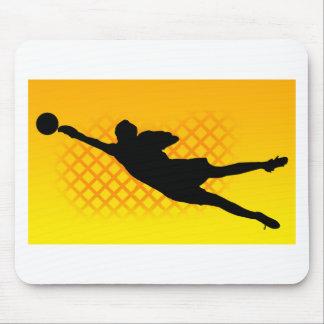 Soccer Goalie Mousepads