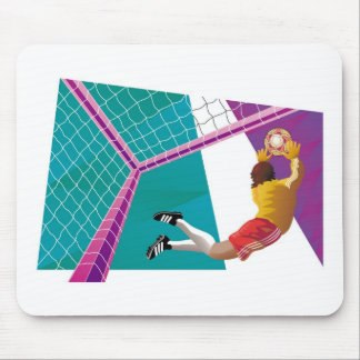 Soccer Goalkeeper Mouse Pad