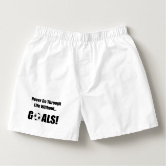 Soccer Goals Boxers