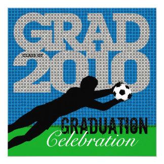 Soccer Graduation Party 1 Invitation