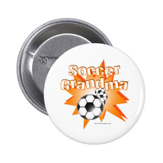 Soccer Grandma Buttons