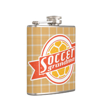 Soccer Grandma Stainless Steel Hip Flask