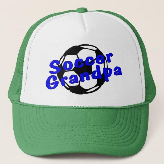 Soccer Grandpa (Blue) Cap