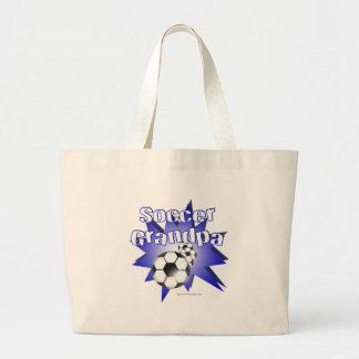 Soccer Grandpa Canvas Bag