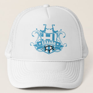 soccer GREECE Trucker Hat