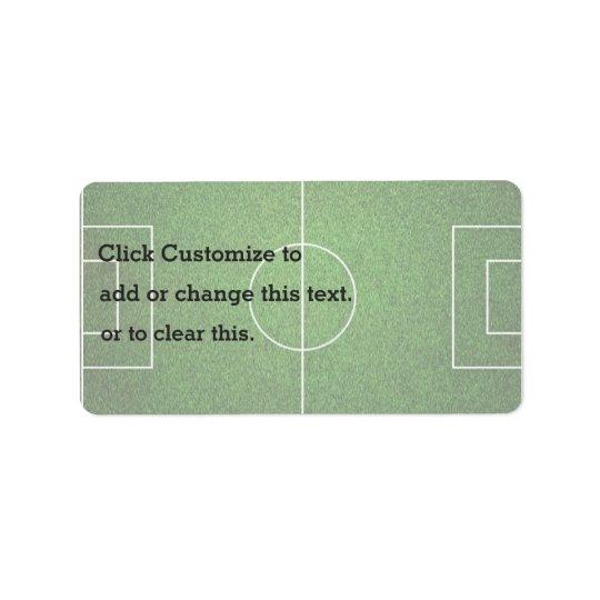 Soccer Green Coat Label