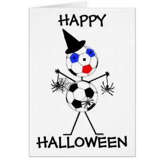 Soccer Happy Halloween Card