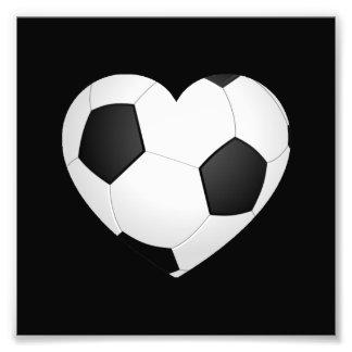Soccer Heart Photograph